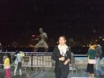 Bruce Lee behind me
