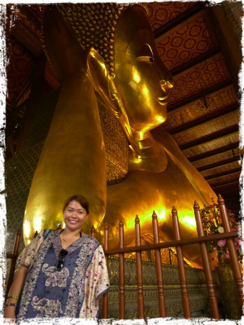Wat Pho - Temple of the Reclining Buddha is also knows as Wat Phra Chetuphon.